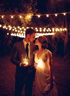 gorgeous night wedding photo ideas