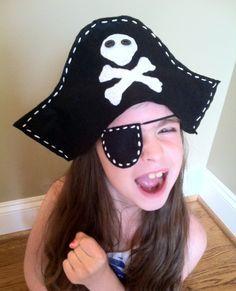 Resultado de imagen de diy sombrero pirata