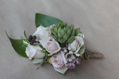 Blooms by Bethan Rustic vintage corsage;