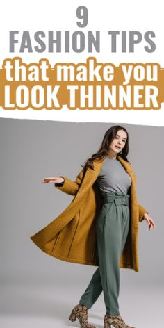With fashion, you can make yourself look thinner! Here's how to dress to look thinner and skinnier. Look Thinner, How To Look Skinnier, Diy For Girls, Perfectly Imperfect, Every Girl, Korean Fashion, Beauty Hacks, That Look, Street Wear