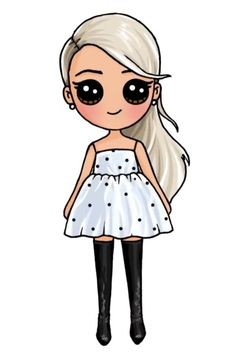 Discover recipes, home ideas, style inspiration and other ideas to try. Cute Drawings Of People, Cute Little Drawings, Cute Food Drawings, Cute Disney Drawings, Cute Girl Drawing, Drawings Of Friends, Cartoon Girl Drawing, Cartoon Drawings, Unicorn Drawing