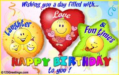 Beautiful Animated Birthday E Cards | ... Latest Birthday Greetings , Wish Happy Birthday With Romantic E-cards