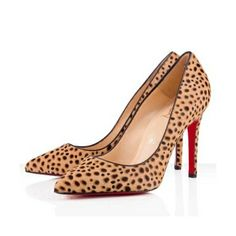 Christian Louboutin Pigalle 100mm Pumps Leopard. Only $125.00