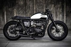'Black Bulldog' Triumph Bonneville – K-Speed Customs