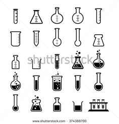Buy Chemical tubes icon by Tzubasa on GraphicRiver. Chemical tubes icon set for your design Fully editable File : AI / / JPG Image Chemistry Tattoo, Science Tattoos, Doodle Icon, Doodle Art, Icon Design, Web Design, Graphic Design, Flat Design, Tatto Mini