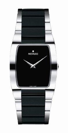 Movado Men's 605850 Fiero Tungsten Carbide Watch