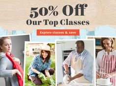 Temperatures are rising — and so are savings! Find out how to save 50% on five-star classes today.