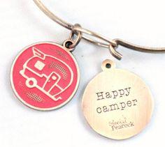 Happy Camper Token Bracelet