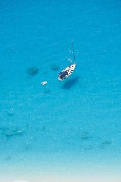 Sailing the turquoise waters of the Ionian Sea ~ Lefkada island, Greece Beautiful Islands, Beautiful World, Beautiful Places, Oh The Places You'll Go, Places To Travel, Places To Visit, Greece Islands, Exotic Places, Turquoise Water