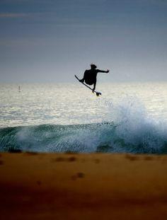 #eveningsesh #flyinghigh #surf