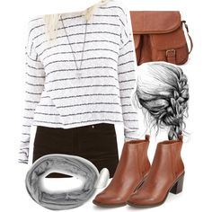 Allison Inspired Forever 21 Outfit by veterization on Polyvore featuring moda and Forever 21