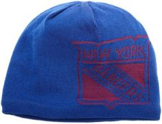 NHL Game Day Reversible Knit Hat, New York Rangers, One Size Fits All Reebok. Save 46 Off!. $9.24