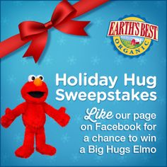 Enter to win a Sesame Street Big Hugs Elmo for your little one!