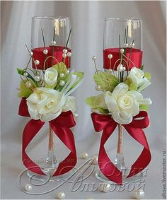Discover thousands of images about Lindas Bridal Wine Glasses, Diy Wine Glasses, Decorated Wine Glasses, Wedding Glasses, Painted Wine Glasses, Wine Glass Crafts, Wine Bottle Crafts, Wedding Centerpieces, Wedding Decorations