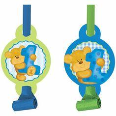 Bears 1st Birthday - Boy Blowouts