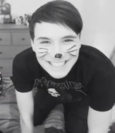Don't tell me he isn't the adorablest person on earth!!>>no Phil is>>no both of them together are. you can't have dan without phil or phil without dan>> PREACH