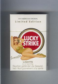 Lucky Strike Cigarette Packaging