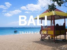 To some Bali is sole