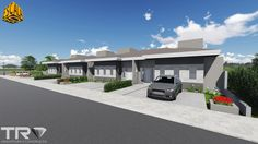 Projeto 4 Casas Térreas