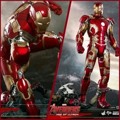 Here is the Brand NEW !!! Iron Man suit that will featured in Avengers: Age of Ultron.