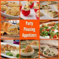 40 Party Pleasing Appetizers | MrFood.com