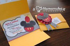 Invitaciones de Mickey Mouse