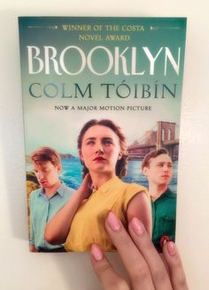 A book that was made into a movie: BrooklynbyColm Tóibín The third book I read as part of The Big Book Challenge was Brooklyn by Colm Tóibín. I thought this would be a good one to read as '…