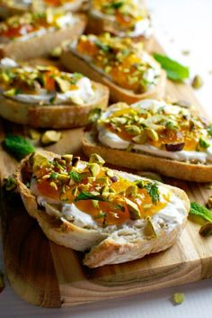 You have to try this Apricot Crostini recipe.