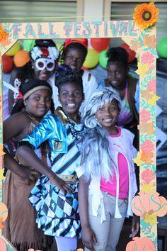 MSA 5th grade girls dressed for Halloween enjoying the 2015 Fall Festival!! #SCSchools #MeetingStreetAcademy #ShermanFinancialGroup