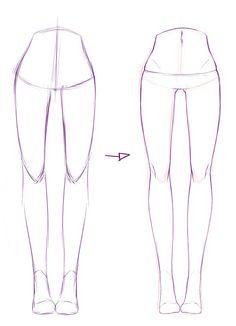 Cartoon Drawing Tips - Drawing On Demand Drawing Techniques, Drawing Tips, Drawing Lessons, Body Sketches, Anime Drawings Sketches, Body Drawing, Drawing Base, Manga Drawing, Poses References
