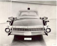 1959 Cadillac Landau Limousine. Rear view