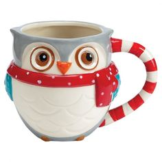 Snowy Owls Mug, I have the matching scrubbie holder!!! :)