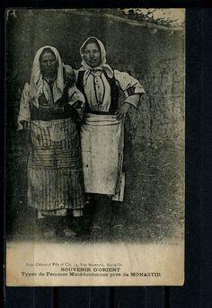 Greece Macedonia Monastir Types de Femmes   eBay