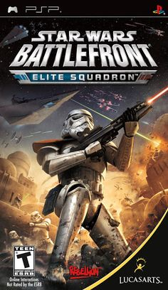 Star Wars Battlefront Elite Squadron [EUR-Mult Inc.Español] [PSP] [MG] ~ PlayStendo