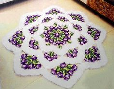Crochet Flower Carpet - Free Pattern | Crochet Design