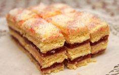 Czech Recipes, Cake Bars, Dessert Recipes, Desserts, Mini Cakes, Food Dishes, Apple Pie, Rum, French Toast