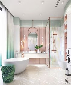 decor for counter decor shelves bathroom decor 2018 decor yellow walls decor items decor restaurant decor model free decor wall ideas Home Interior Design, Bathroom Design Luxury, House Interior, Girl Bedroom Decor, Home Room Design, Bathroom Interior Design, Bedroom Interior, Home, Interior