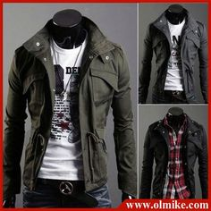 Free Shipping New Mens Shirts,Casual shirts Slim Fit Stylish Hot Dress Shirts I like this bad boy look. Colour:Blue,Gray,Winered Size:M L XL XXL-in Casual Shirts from Apparel & Accessories on Aliexpress.com