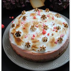 Discover recipes, home ideas, style inspiration and other ideas to try. Praline Rose, Vol Au Vent, Cupcake Heaven, Creamy Chicken, Cheesecakes, Cake Decorating, Dessert Recipes, Food And Drink, Gratin