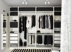 Trendy Open Closet Storage Ideas Walk In