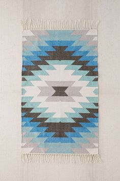 Faded Kilim Indoor/Outdoor Woven Rug - Urban Outfitters