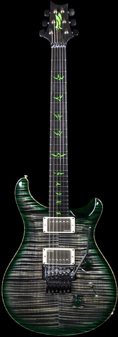 PRS Private Stock 4300 Vampire Charcoal Green Burst
