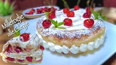 Biscotti, Nutella, Easy Youtube, Easy Cake Recipes, Sweet Cakes, Pastel, Food Videos, Cheesecake, Deserts