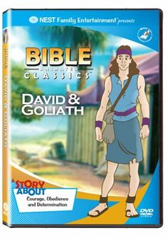 David And Goliath DVD | Boys and girls alike will enjoy this story of courage and faith! | NestLearning.com