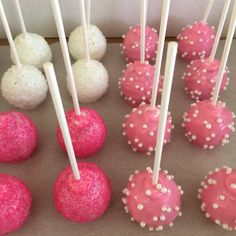 Pretty in pink Cakepops!