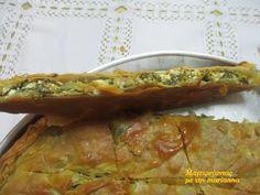 Λεπτή Χορτόπιτα με άγρια χόρτα του βουνού, ψημένη σε ξυλόφουρνο! Spanakopita, Greek Recipes, Food Inspiration, Quiche, Food And Drink, Pizza, Breakfast, Ethnic Recipes, Diy