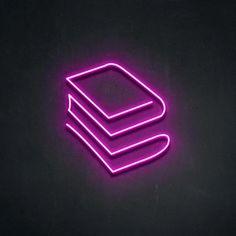 Pink Neon Sign, Neon Purple, Dark Purple Aesthetic, Neon Aesthetic, Neon Light Signs, Led Neon Signs, Apps, Pink Neon Wallpaper, Whatsapp Logo