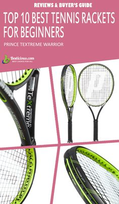 Best Tennis Rackets for Beginners Ultimate List (March) Best Tennis Rackets, Head Tennis, Muscle Power, Buyers Guide, How To Stay Healthy, Prince, Female, Top, Crop Shirt