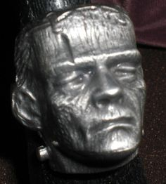 Boris Karloff-Frankenstein ring!!!!!!  Shit!