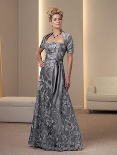 Lace and taffeta two